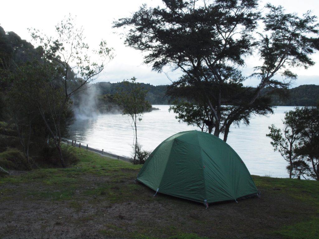 ロトルア タラウェラ湖