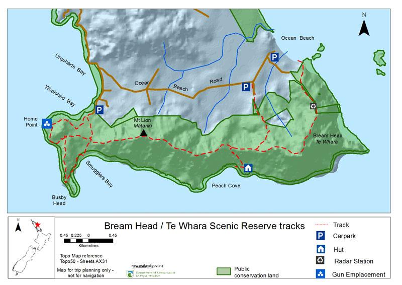 bream-head-track-location-map