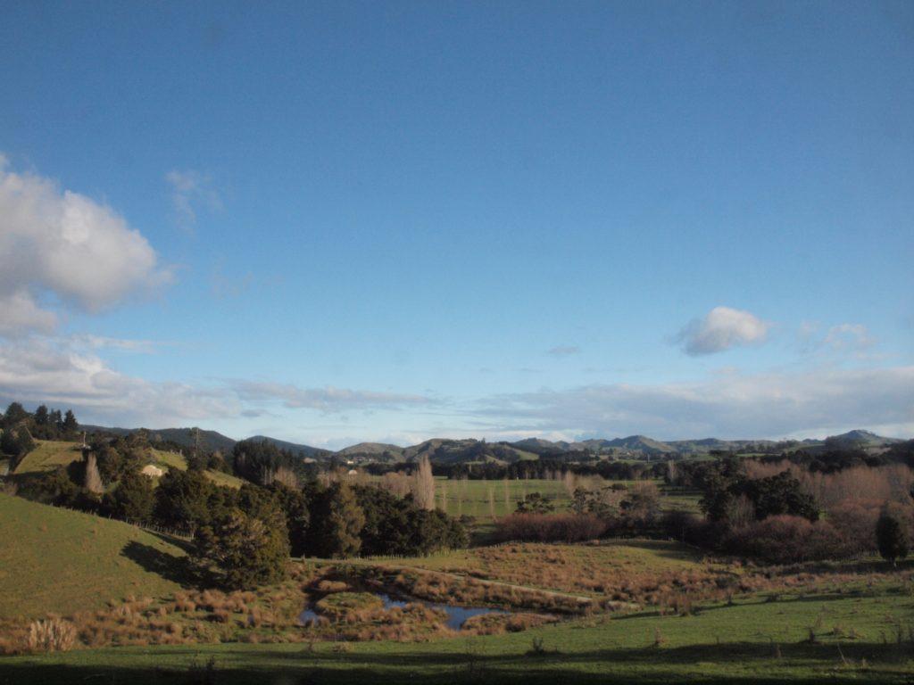 ウェルスフォードの農家の景色