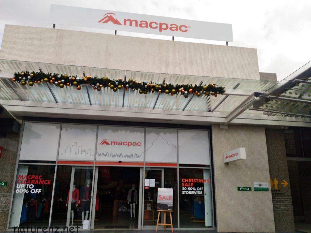 macpac マックパック ニュージーランド アウトドア ブランド アウトレット