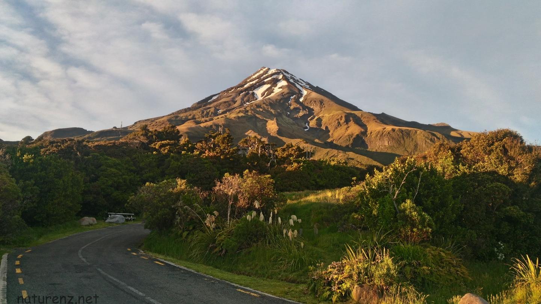 タラナキ山 山頂を目指す サミットクライム
