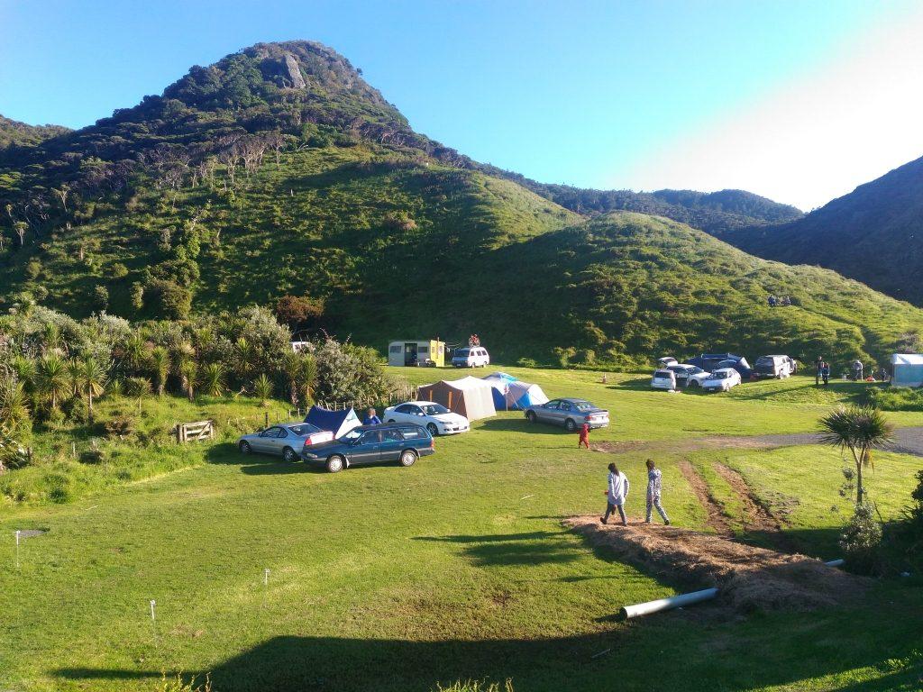ワイタケレ、ファティプのキャンプ場