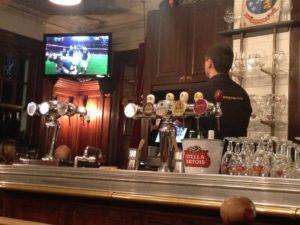 ラグビーW杯2015!オールブラックス戦をパブで観戦してみた!