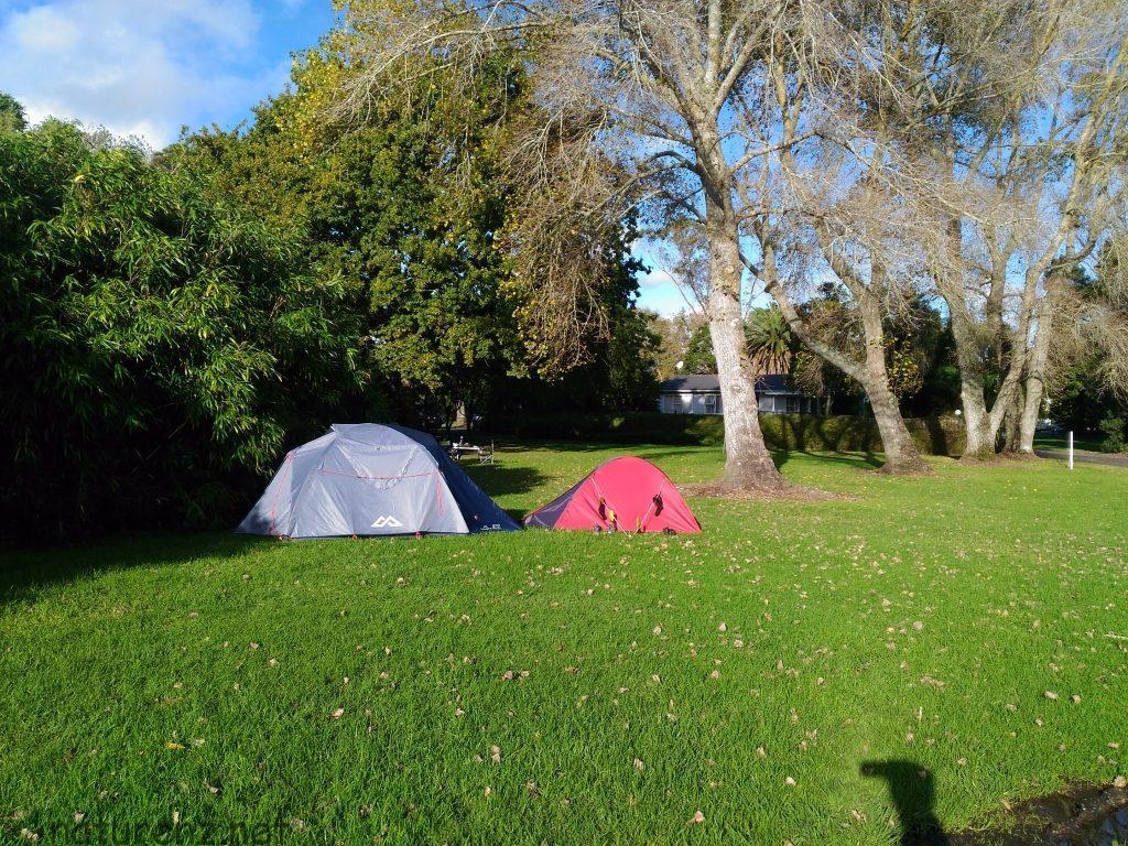 パラカイ温泉のキャンプ場