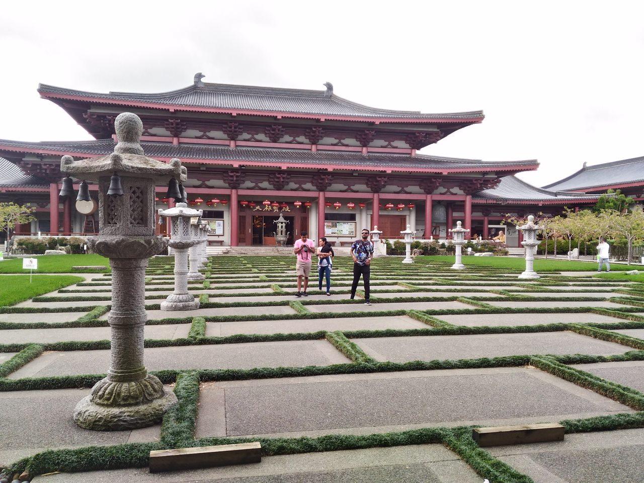 オークランドのFo Gunag Shan Temple