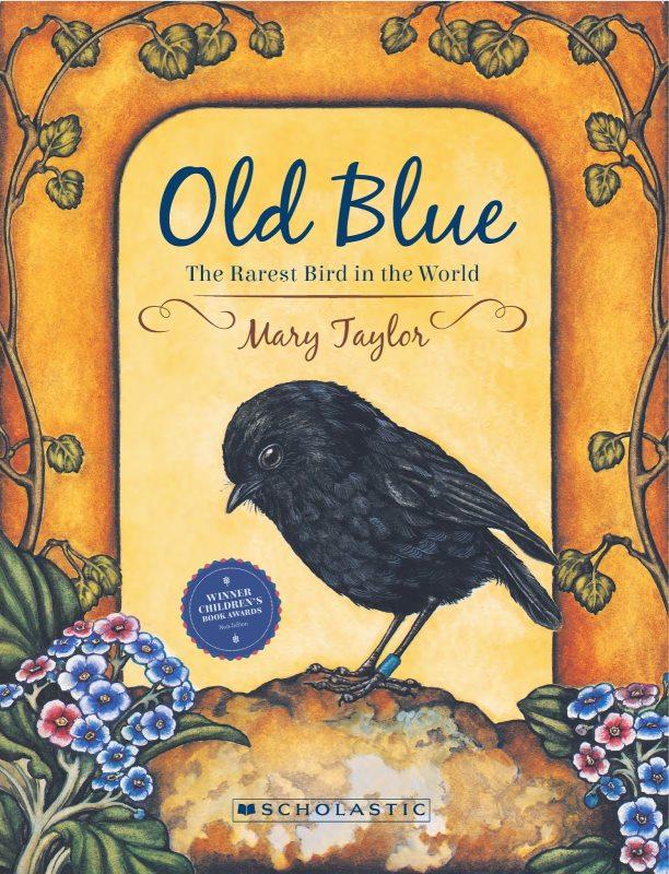 ニュージーランドの絵本「オールドブルー」
