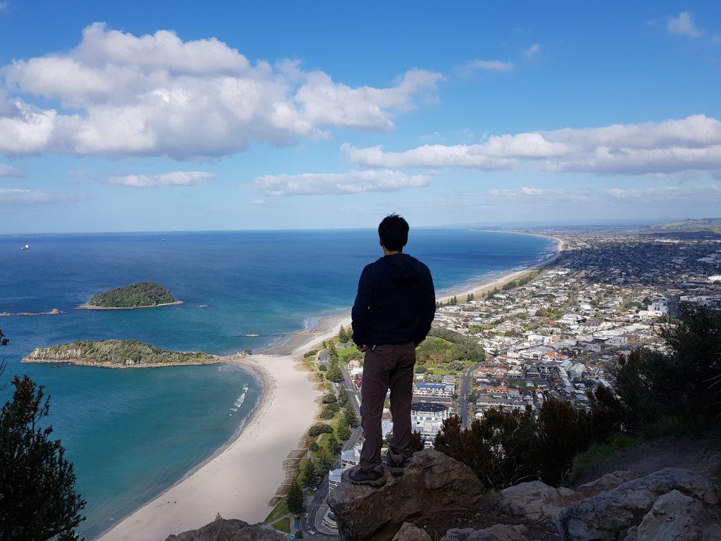 期待を裏切らない絶景!タウランガの「マウント・マウンガヌイ」の登り方
