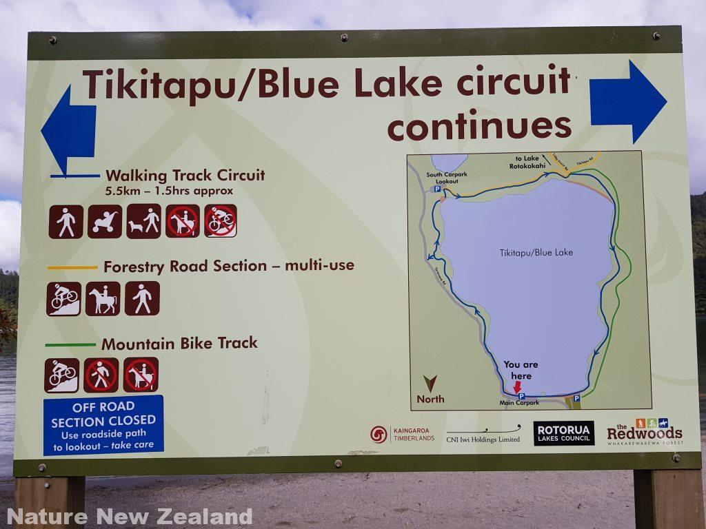 ブルーレイクの地図