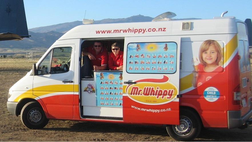 ニュージーランドで一番おいしいアイスクリームはどれかって?そんなの、Mr.Whippyに決まってますよ!