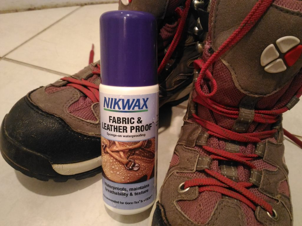 NZのKatumanduで登山靴購入!さて、お手入れ方法は??
